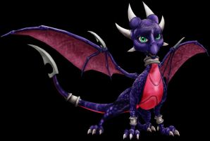 Cynder the Dragon- done by Cyber-Toaster