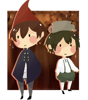 Over The Garden Wall by PandaBlobs