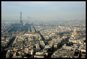 Skyline of Paris by Dee-ehn