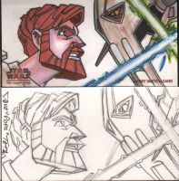 STAR WARS CLONE WARS APS 7 by POPSTATA