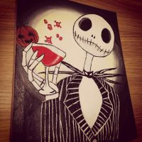 Jack Skellington by SynysterNotes