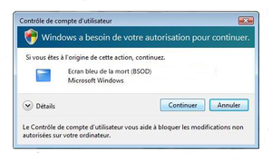 BSOD Humour by Gotier