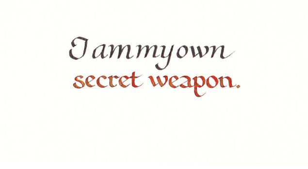 Secret Weapon by MShades