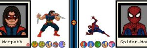 AvsX - Warpath vs. Spider-Man by GEEKINELL