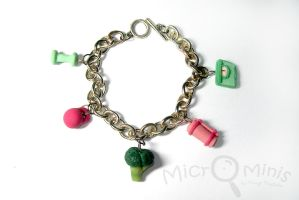 Fit n' Fab Charm Bracelet by margemagtoto