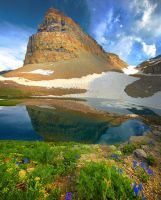 Mt. Timpanogos, II by coulombic