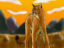 Puma Paradise by Electrical--Volttail
