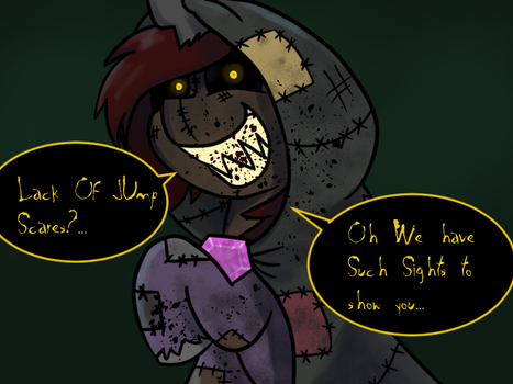 The Grim Narrator Jump Scares by TranzmuteProductions
