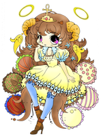 Truffle Girl {Coloured} by Bunri