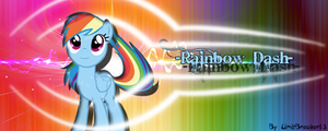 [Request] Rainbow Dash - Signature by LimitBreaker13