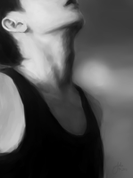 Zitao's Neck by juliatu