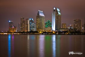 Downtown San Diego by Milton-Andrews