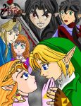 LoZ : Lurking Shadows Cover Page_Color by Mynhphrah