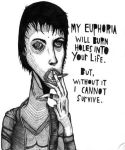 Burn Holes Into Your Life by the-chemical-actor