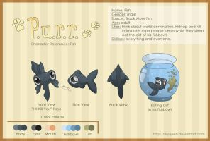Character Reference: Fish by MySweetQueen