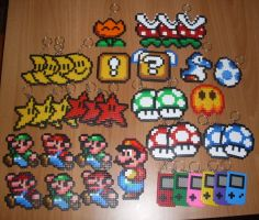 Super Mario's sprites by Ceril91