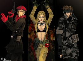 -MGS3- by obsceneblue