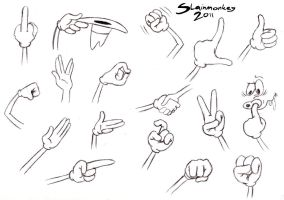 Hand sheet 1 by Slainmonkey
