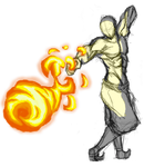Firebending Punch by moptop4000
