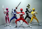 SH Figuarts Mighty Morphin Power Rangers 02 by Infinitevirtue