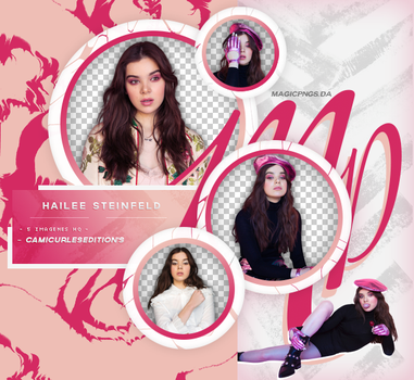 PACK PNG 645| HAILEE STEINFELD by MAGIC-PNGS