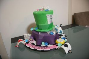 Mad Hatters Tea Party by mudpiecakes