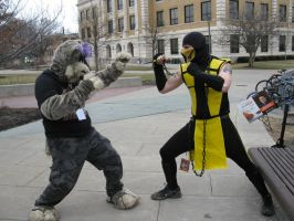 Scorpion vs Jynx by Rennon-the-Shaved