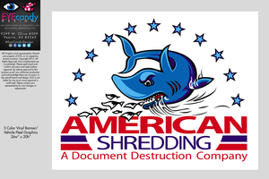 American Shredding Fleet Graphics by EYEcandyDesign