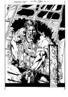Resident Evil-Redfield inks by raMbo1911