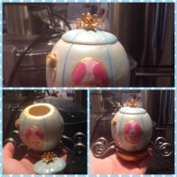 Cinderella pumpkin carriage jar by Brownie314
