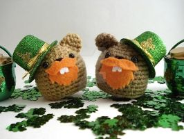 Leprechaun Groundhogs by MoonYen