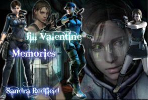 Jill Valentine by SandraRedfield