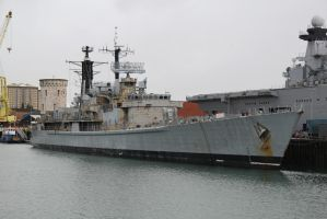 HMS Gloucester by james147741