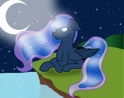 Princess Luna - Silent Night by Nathy2001