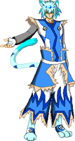 Blazblue Oc: Nasuruu Sprite by DiamondShatter