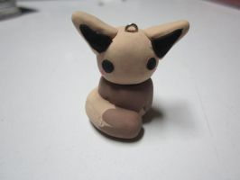 Polymer Clay Chibi Eevee by MaxxeneStacey