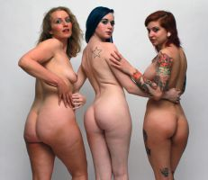 Three in a row 1 by ESLB-Photography