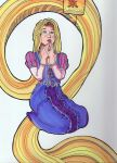 Rapunzel--Tangled by persephonify