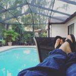 Sitting Poolside by Nick-The-Man