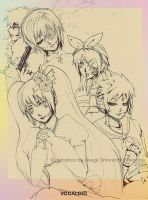 VOCALOIDs by soanvalentine
