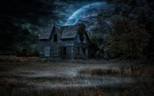 Haunted Abode.. by AledJonesStockNArt