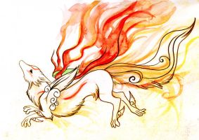 Amaterasu by Lyswen