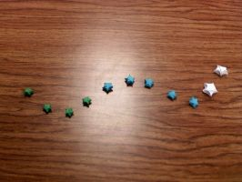 Oh My Origami Stars by GoldWinds