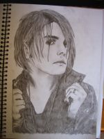 Gerard Way Pencils by MyCartoonRomance