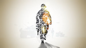 BF3 abstract 2 by GuMNade