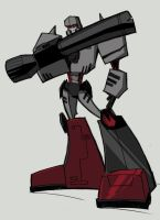 G1 animated Megatron by dcjosh