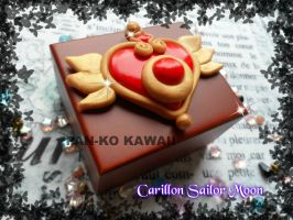 Sailor moon brooch music box by PankoKawaii