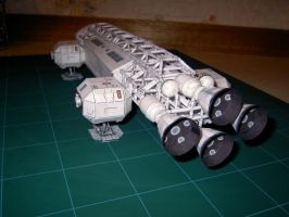 Space 1999 Eagle model by greenelf1967