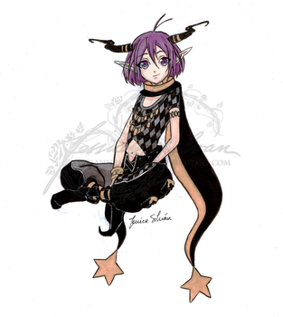 Orion from Amnesia by AnneaGoewin