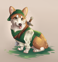 Corgi Link by anouki-morgenstern